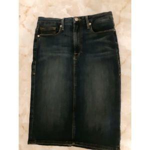 Good American Jean Skirt Size 10/30